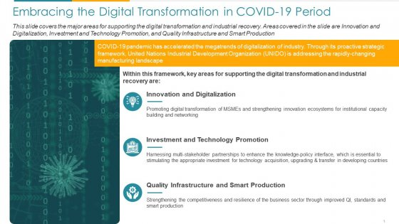 COVID Business Embracing The Digital Transformation In COVID 19 Period Ppt Layouts Styles PDF