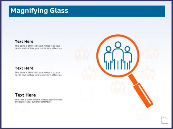 CRM Activities For Real Estate Magnifying Glass Ppt Visual Aids Pictures PDF