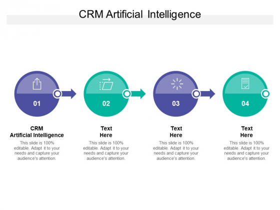 CRM Artificial Intelligence Ppt PowerPoint Presentation Inspiration Graphics Design Cpb