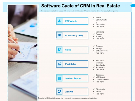 CRM_For_Realty_Properties_Ppt_PowerPoint_Presentation_Complete_Deck_With_Slides_Slide_13