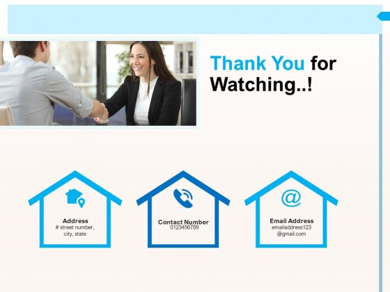 CRM For Realty Properties Thank You For Watching Ppt Show Graphic Tips PDF