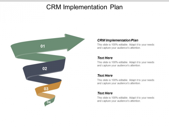 CRM Implementation Plan Ppt PowerPoint Presentation Infographics Introduction Cpb