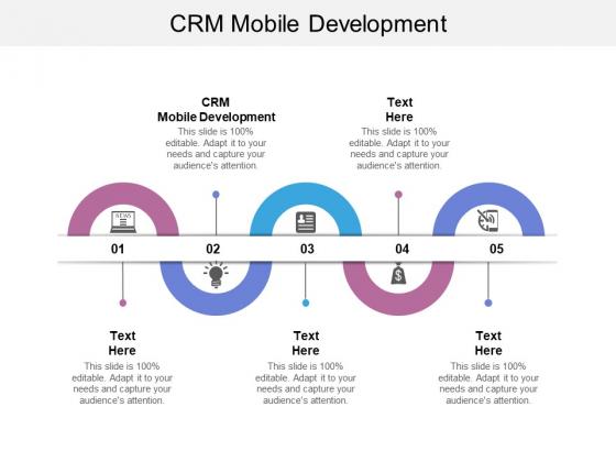 CRM Mobile Development Ppt PowerPoint Presentation Model Information Cpb