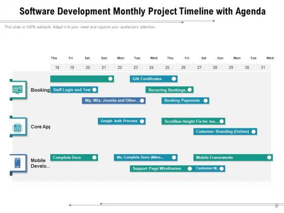 Calendar_Timeline_For_Project_Planning_Agenda_Calendar_Ppt_PowerPoint_Presentation_Complete_Deck_Slide_9