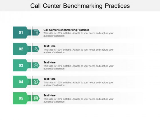 Call Center Benchmarking Practices Ppt PowerPoint Presentation Summary Pictures Cpb