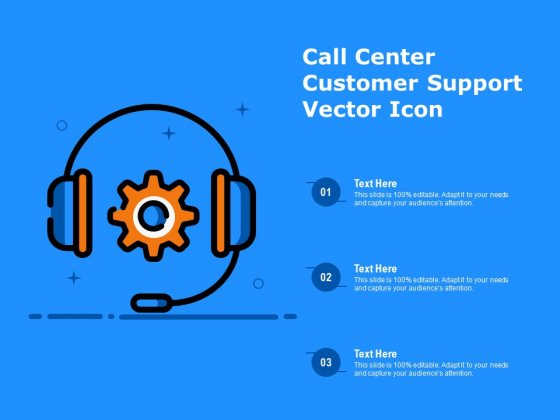 Call Center Customer Support Vector Icon Ppt PowerPoint Presentation Ideas Vector