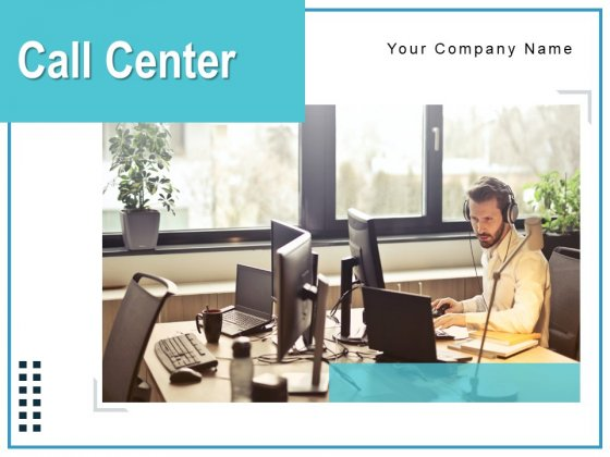 Call Center Employee Working Multinational Ppt PowerPoint Presentation Complete Deck