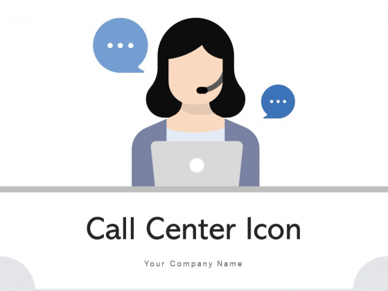 Call_Center_Icon_Headphone_Icon_Employee_Ppt_PowerPoint_Presentation_Complete_Deck_Slide_1