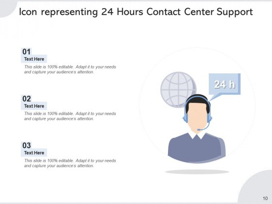 Call_Center_Icon_Headphone_Icon_Employee_Ppt_PowerPoint_Presentation_Complete_Deck_Slide_10