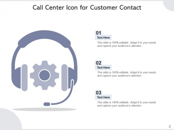 Call_Center_Icon_Headphone_Icon_Employee_Ppt_PowerPoint_Presentation_Complete_Deck_Slide_2