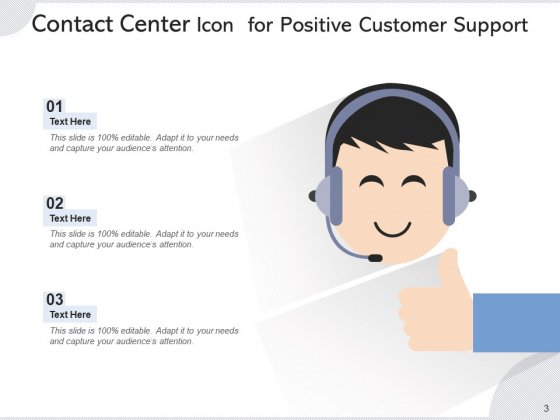 Call_Center_Icon_Headphone_Icon_Employee_Ppt_PowerPoint_Presentation_Complete_Deck_Slide_3