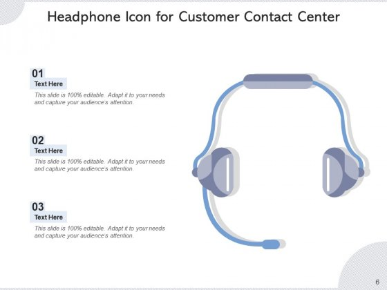 Call_Center_Icon_Headphone_Icon_Employee_Ppt_PowerPoint_Presentation_Complete_Deck_Slide_6