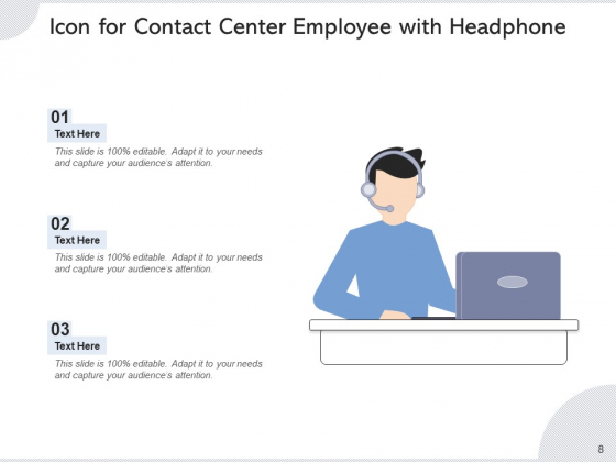 Call_Center_Icon_Headphone_Icon_Employee_Ppt_PowerPoint_Presentation_Complete_Deck_Slide_8