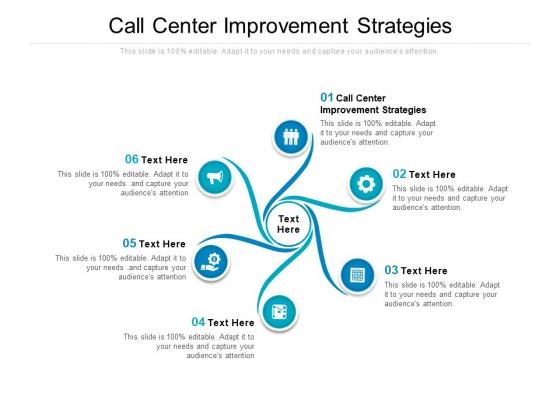 Call Center Improvement Strategies Ppt PowerPoint Presentation Inspiration Mockup Cpb