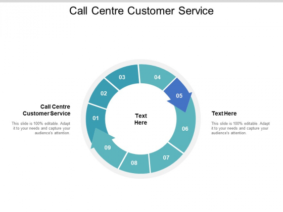 Call Centre Customer Service Ppt PowerPoint Presentation Ideas Template