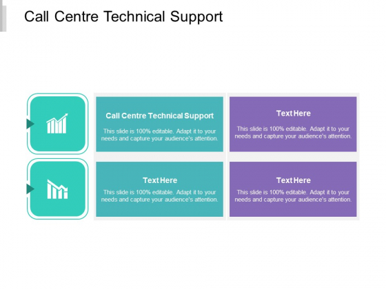 Call Centre Technical Support Ppt PowerPoint Presentation Pictures Microsoft Cpb