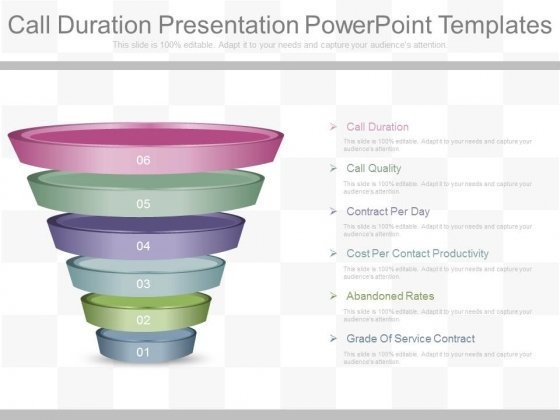 Call Duration Presentation Powerpoint Templates