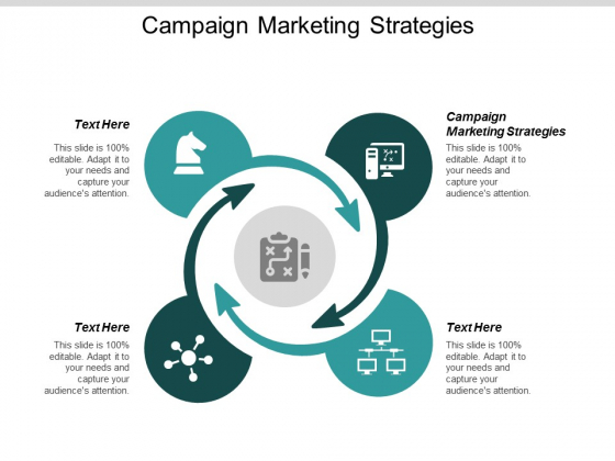 Campaign Marketing Strategies Ppt PowerPoint Presentation Gallery Brochure Cpb