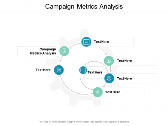 Campaign Metrics Analysis Ppt PowerPoint Presentation Icon Show Cpb