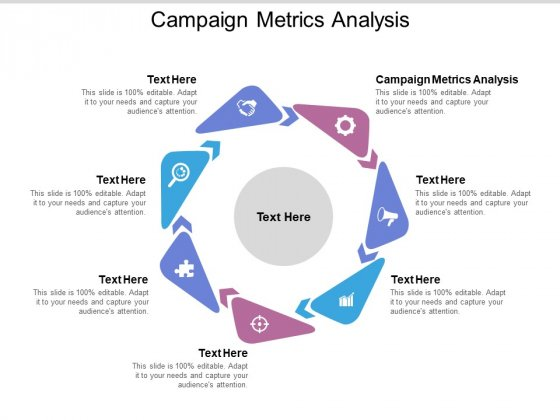 Campaign Metrics Analysis Ppt PowerPoint Presentation Template Cpb