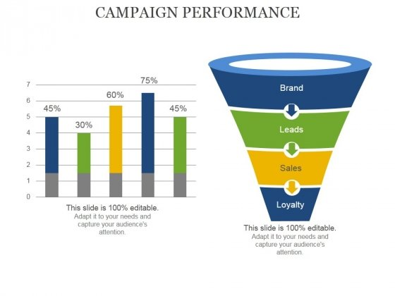 Campaign Performance Ppt PowerPoint Presentation Inspiration Vector