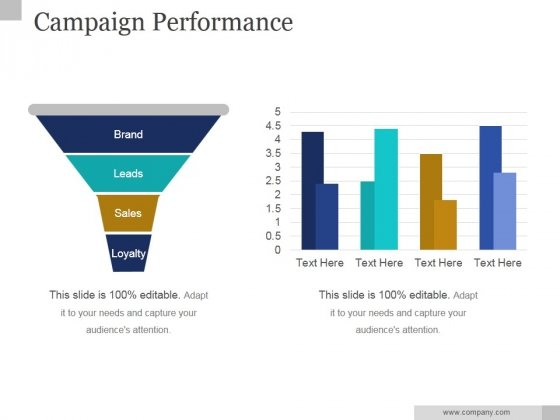 Campaign Performance Ppt PowerPoint Presentation Layouts