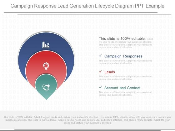 Campaign Response Lead Generation Lifecycle Diagram Ppt Example