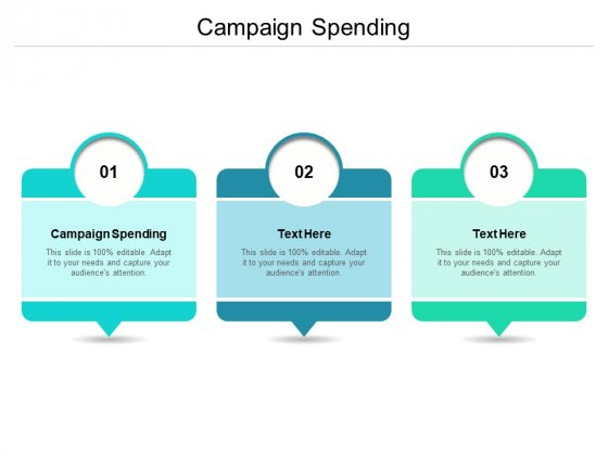 Campaign Spending Ppt PowerPoint Presentation Inspiration Images Cpb