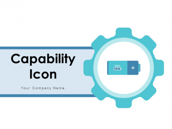 Capability Icon Growth Business Ppt PowerPoint Presentation Complete Deck