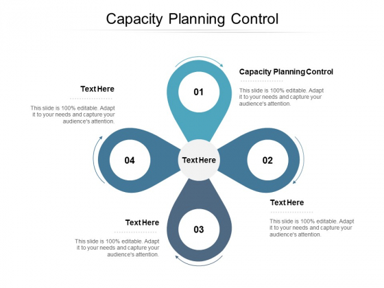 Capacity Planning Control Ppt PowerPoint Presentation Professional Visuals Cpb