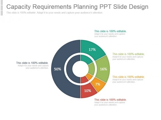 Capacity Requirements Planning Ppt Slide Design