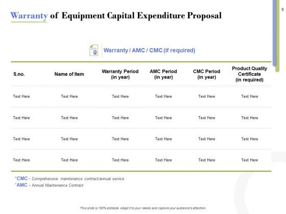 Capex_Proposal_Template_Ppt_PowerPoint_Presentation_Complete_Deck_With_Slides_Slide_9