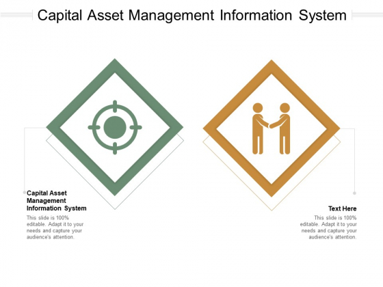 Capital Asset Management Information System Ppt PowerPoint Presentation Professional Rules Cpb Pdf