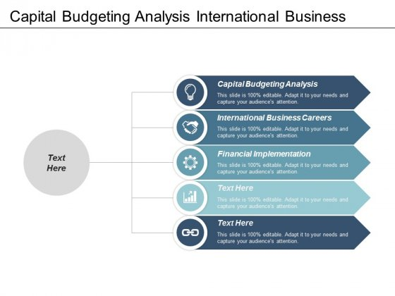 Capital Budgeting Analysis International Business Careers Financial Implementation Ppt PowerPoint Presentation Ideas Deck