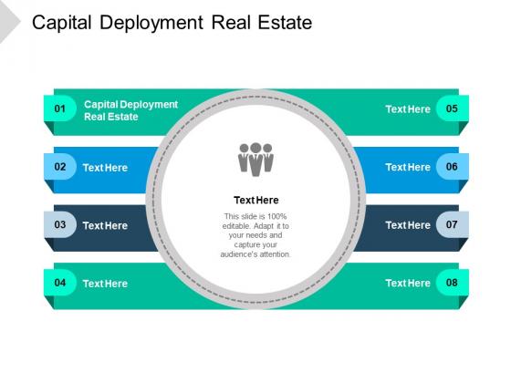 Capital Deployment Real Estate Ppt PowerPoint Presentation Designs Cpb Pdf