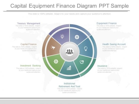 Capital Equipment Finance Diagram Ppt Sample