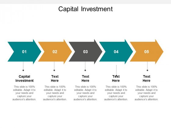 Capital Investment Ppt PowerPoint Presentation Pictures Design Ideas Cpb