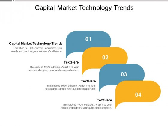 Capital Market Technology Trends Ppt PowerPoint Presentation Ideas Gallery Cpb Pdf
