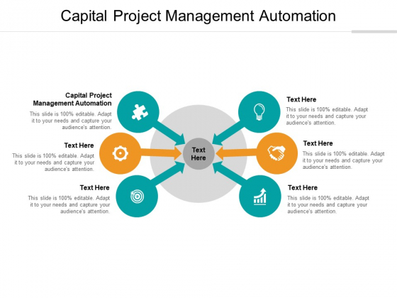 Capital Project Management Automation Ppt PowerPoint Presentation Infographics Demonstration Cpb