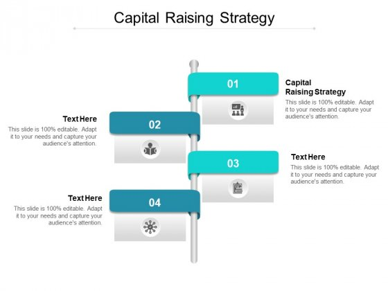 Capital Raising Strategy Ppt PowerPoint Presentation Icon Microsoft Cpb