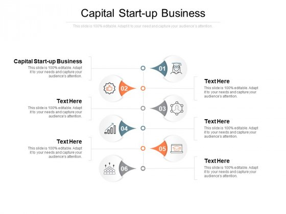Capital Start Up Business Ppt PowerPoint Presentation Show Gallery Cpb