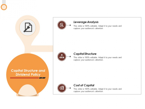 Capital Structure And Dividend Policy Ppt PowerPoint Presentation File Example