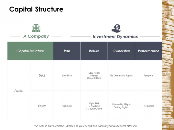 Capital Structure Risk Ppt Powerpoint Presentation Model Inspiration