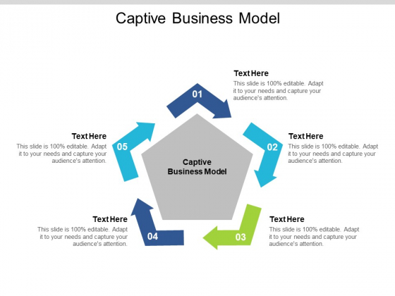 Captive Business Model Ppt PowerPoint Presentation Gallery Files Cpb Pdf