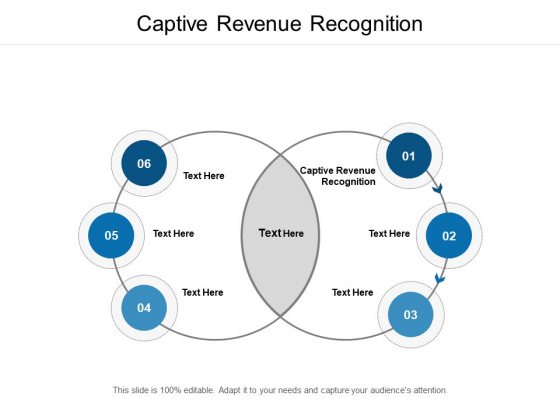 Captive Revenue Recognition Ppt PowerPoint Presentation Pictures Samples Cpb