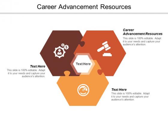 Career Advancement Resources Ppt PowerPoint Presentation Portfolio Brochure Cpb