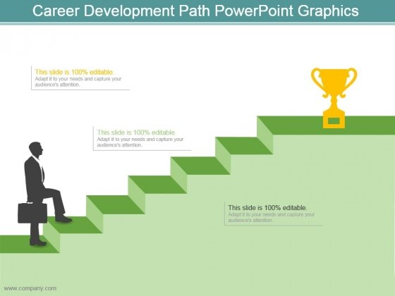 Career Development Path Powerpoint Graphics