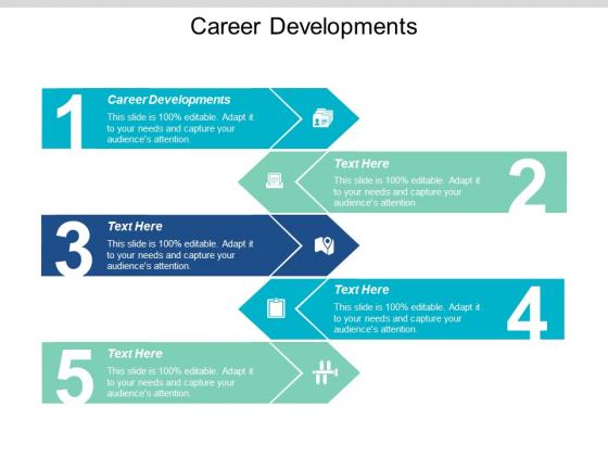 Career Developments Ppt PowerPoint Presentation Layouts Slide Cpb