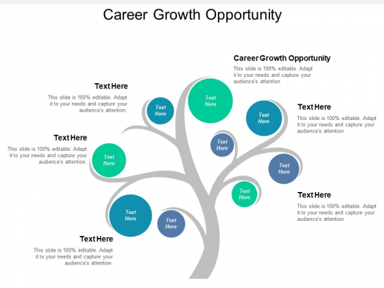 Career Growth Opportunity Ppt PowerPoint Presentation Model Visuals