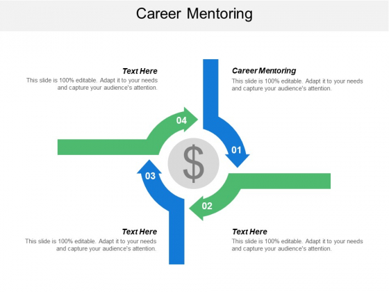 Career Mentoring Ppt PowerPoint Presentation Summary Show Cpb